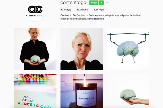 Intervju hos Content To Go