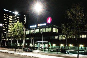 Mentorträff i TV4-huset
