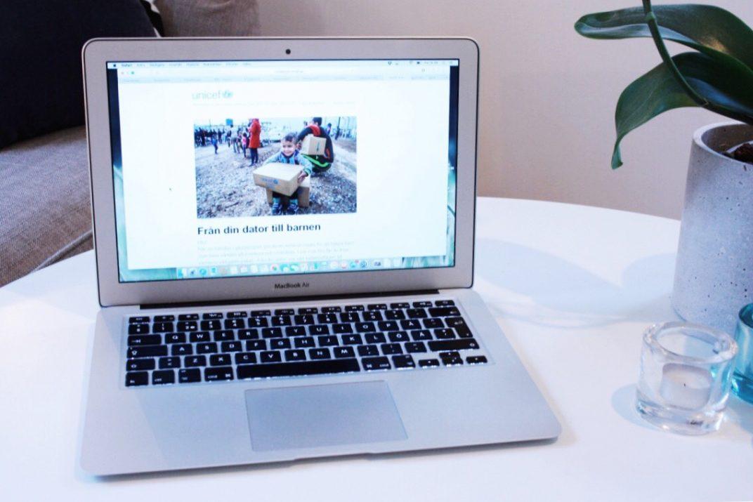 Unicef bloggare för varenda unge