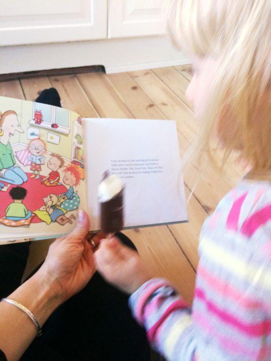 högläsning med barn
