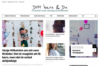 Intervju med Vanja Wikström om livet som mamma